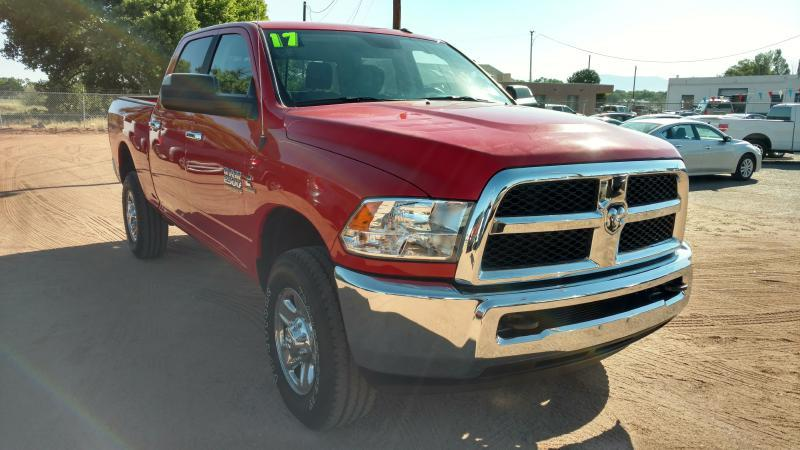 2017 RAM Ram Pickup 2500 for sale at AUGE'S SALES AND SERVICE in Belen NM