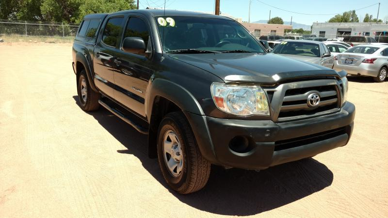 2009 Toyota Tacoma for sale at AUGE'S SALES AND SERVICE in Belen NM
