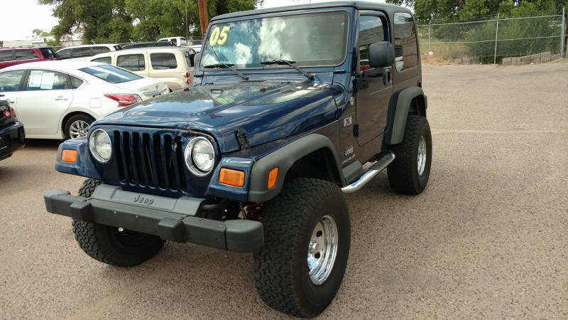 2005 Jeep Wrangler for sale at AUGE'S SALES AND SERVICE in Belen NM