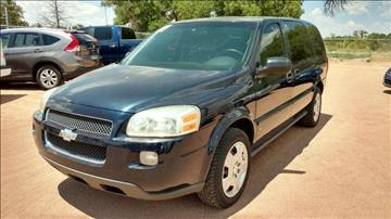 2007 Chevrolet Uplander for sale at AUGE'S SALES AND SERVICE in Belen NM