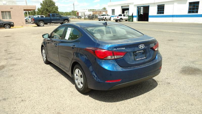 2016 Hyundai Elantra for sale at AUGE'S SALES AND SERVICE in Belen NM