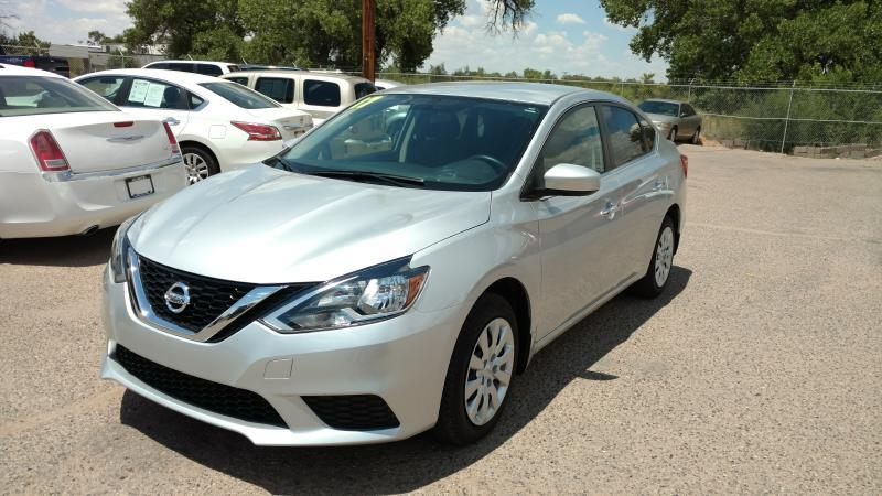 2017 Nissan Sentra for sale at AUGE'S SALES AND SERVICE in Belen NM