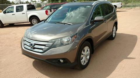 2014 Honda CR-V for sale at AUGE'S SALES AND SERVICE in Belen NM