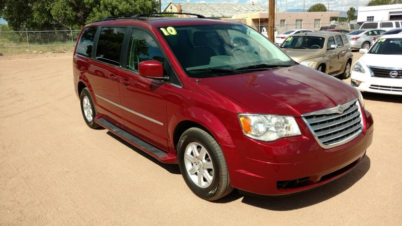 2010 Chrysler Town and Country for sale at AUGE'S SALES AND SERVICE in Belen NM