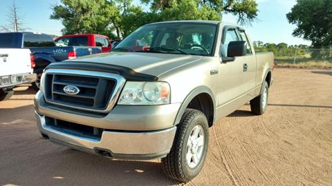 2004 Ford F-150 for sale at AUGE'S SALES AND SERVICE in Belen NM