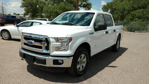2015 Ford F-150 for sale at AUGE'S SALES AND SERVICE in Belen NM