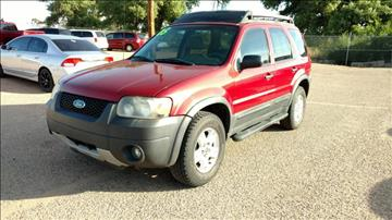 2005 Ford Escape for sale at AUGE'S SALES AND SERVICE in Belen NM