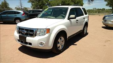2012 Ford Escape for sale at AUGE'S SALES AND SERVICE in Belen NM