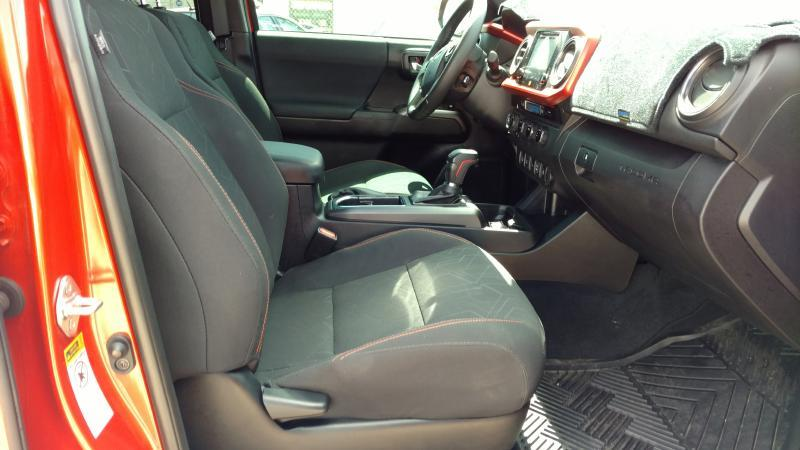 2017 Toyota Tacoma for sale at AUGE'S SALES AND SERVICE in Belen NM