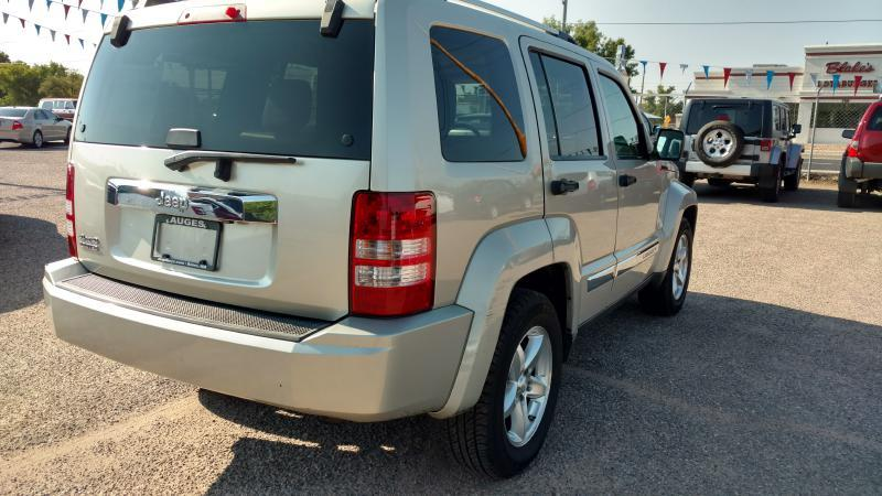 2009 Jeep Liberty for sale at AUGE'S SALES AND SERVICE in Belen NM