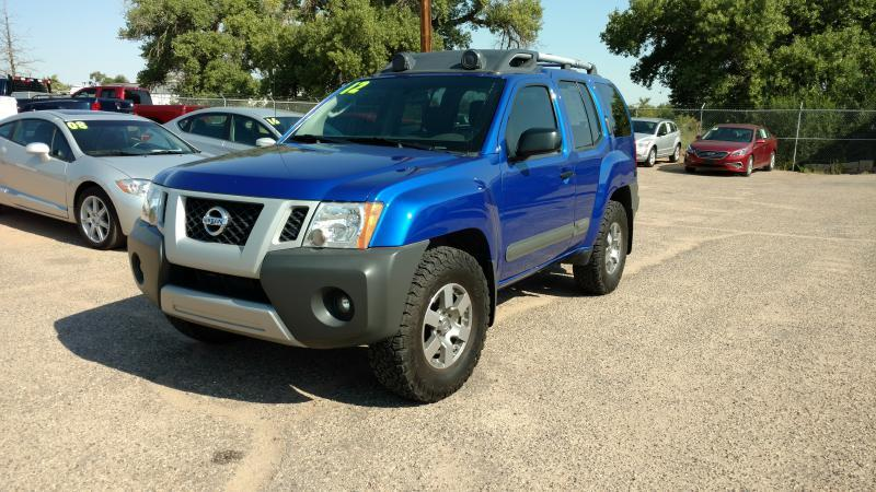 2012 Nissan Xterra for sale at AUGE'S SALES AND SERVICE in Belen NM