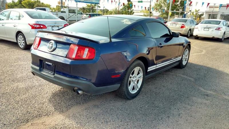 2012 Ford Mustang for sale at AUGE'S SALES AND SERVICE in Belen NM