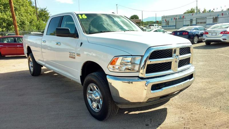 2016 RAM Ram Pickup 2500 for sale at AUGE'S SALES AND SERVICE in Belen NM