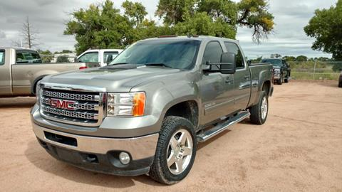 2013 GMC Sierra 2500HD for sale at AUGE'S SALES AND SERVICE in Belen NM