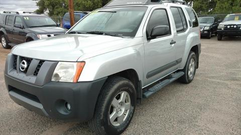 2007 Nissan Xterra for sale at AUGE'S SALES AND SERVICE in Belen NM