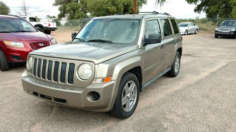 2007 Jeep Patriot for sale at AUGE'S SALES AND SERVICE in Belen NM