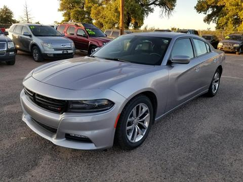 2015 Dodge Charger for sale at AUGE'S SALES AND SERVICE in Belen NM