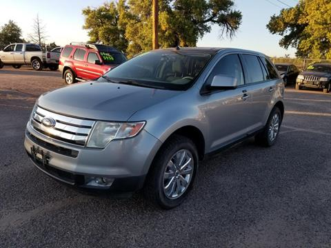 2007 Ford Edge for sale at AUGE'S SALES AND SERVICE in Belen NM