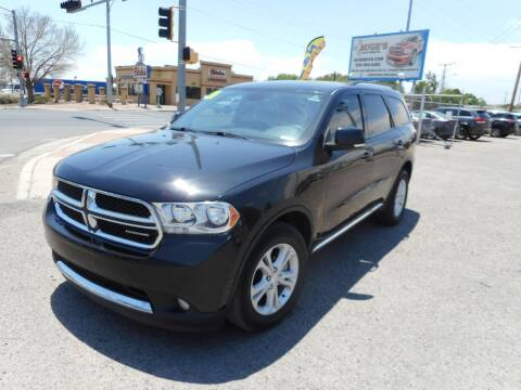 2011 Dodge Durango for sale at AUGE'S SALES AND SERVICE in Belen NM
