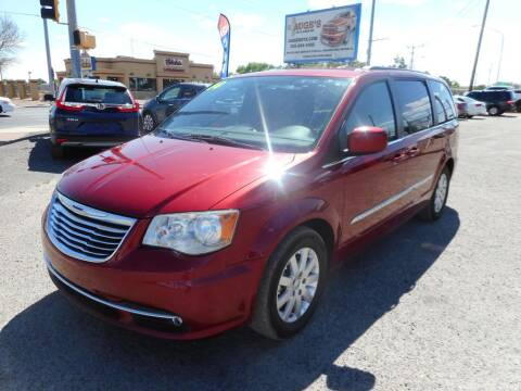 2014 Chrysler Town and Country for sale at AUGE'S SALES AND SERVICE in Belen NM
