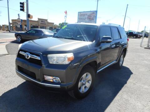 2013 Toyota 4Runner for sale at AUGE'S SALES AND SERVICE in Belen NM