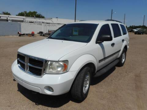 2008 Dodge Durango for sale at AUGE'S SALES AND SERVICE in Belen NM