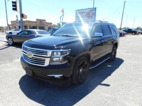 2015 Chevrolet Tahoe for sale at AUGE'S SALES AND SERVICE in Belen NM