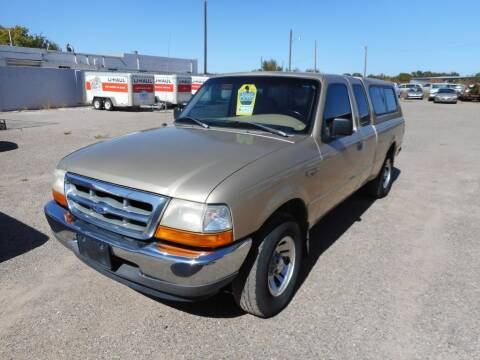 1999 Ford Ranger for sale at AUGE'S SALES AND SERVICE in Belen NM