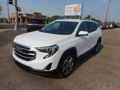 2019 GMC Terrain for sale at AUGE'S SALES AND SERVICE in Belen NM