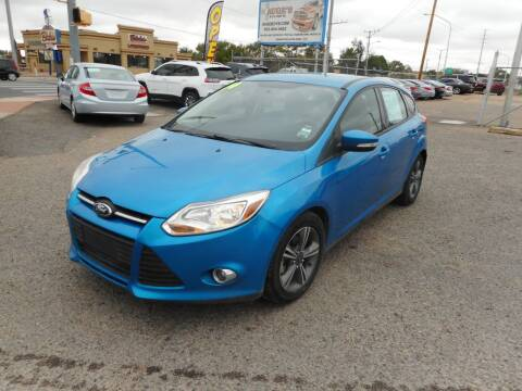 2014 Ford Focus for sale at AUGE'S SALES AND SERVICE in Belen NM