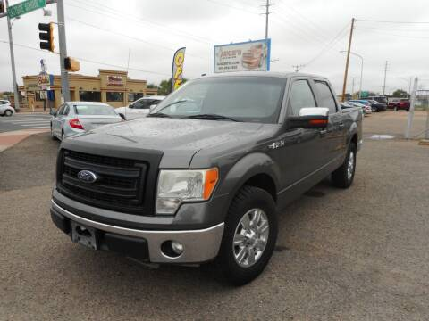 2010 Ford F-150 for sale at AUGE'S SALES AND SERVICE in Belen NM