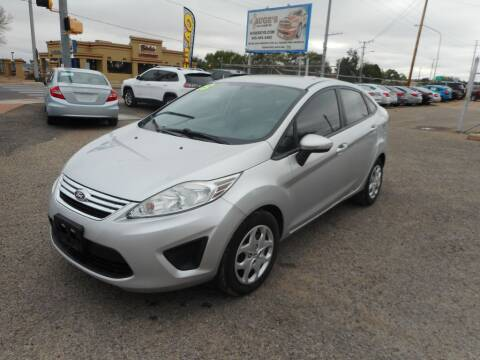 2013 Ford Fiesta for sale at AUGE'S SALES AND SERVICE in Belen NM