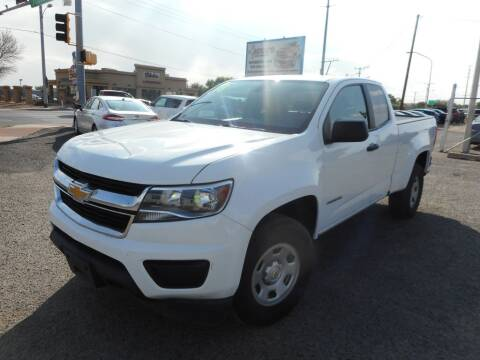 2018 Chevrolet Colorado for sale at AUGE'S SALES AND SERVICE in Belen NM