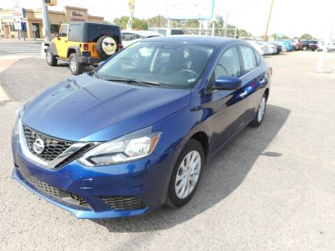 2019 Nissan Sentra for sale at AUGE'S SALES AND SERVICE in Belen NM