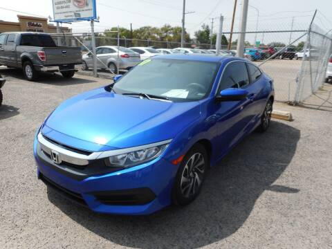 2017 Honda Civic for sale at AUGE'S SALES AND SERVICE in Belen NM