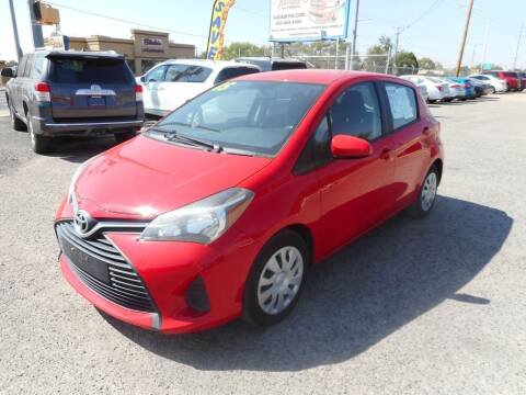 2015 Toyota Yaris for sale at AUGE'S SALES AND SERVICE in Belen NM