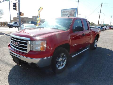 2012 GMC Sierra 1500 for sale at AUGE'S SALES AND SERVICE in Belen NM