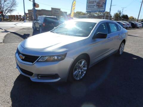 2014 Chevrolet Impala for sale at AUGE'S SALES AND SERVICE in Belen NM