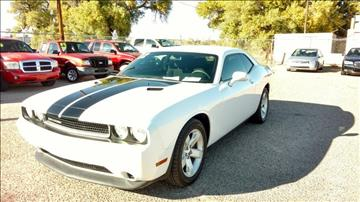 2012 Dodge Challenger for sale at AUGE'S SALES AND SERVICE in Belen NM