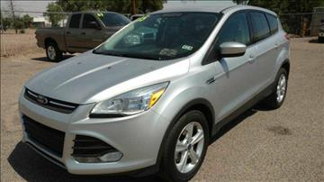 2015 Ford Escape for sale at AUGE'S SALES AND SERVICE in Belen NM