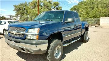 2003 Chevrolet Silverado 1500 for sale at AUGE'S SALES AND SERVICE in Belen NM
