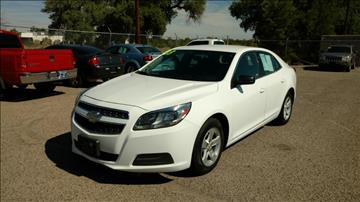 2013 Chevrolet Malibu for sale at AUGE'S SALES AND SERVICE in Belen NM