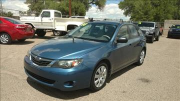 2008 Subaru Impreza for sale at AUGE'S SALES AND SERVICE in Belen NM