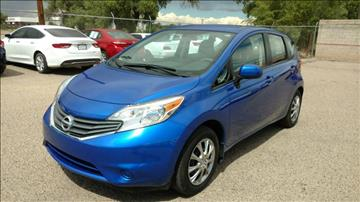 2014 Nissan Versa Note for sale at AUGE'S SALES AND SERVICE in Belen NM