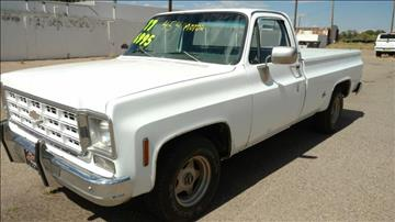 1977 Chevrolet C15 for sale at AUGE'S SALES AND SERVICE in Belen NM
