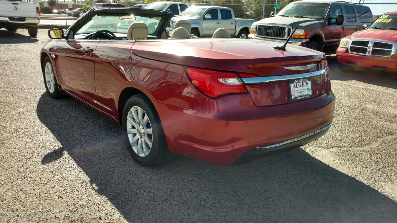 2012 Chrysler 200 Convertible for sale at AUGE'S SALES AND SERVICE in Belen NM