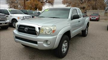 2005 Toyota Tacoma for sale at AUGE'S SALES AND SERVICE in Belen NM