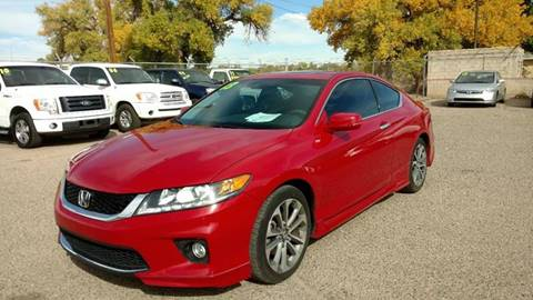 2013 Honda Accord for sale at AUGE'S SALES AND SERVICE in Belen NM