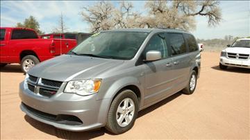 2013 Dodge Grand Caravan for sale at AUGE'S SALES AND SERVICE in Belen NM
