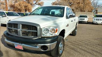 2007 Dodge Ram Pickup 2500 for sale at AUGE'S SALES AND SERVICE in Belen NM